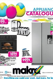 Find Specials || Makro Appliance Catalogue - Easter Deals